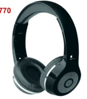 KAPAS Super Bass Stereo Bluetooth Overhead Headphone with Built in Microphone and Extra Removable Aux Cable. SRP $29.99-$39.99