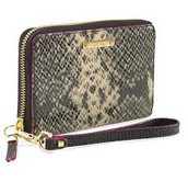 Chelsea Tech Wallet - Black Snake