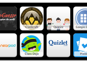 Symbaloo of Gaming Resources in the Classroom
