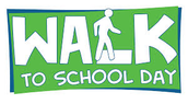 International Walk to School Day is Thursday, October 8th!