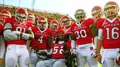 Eric LaGrand and his football team