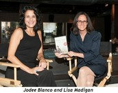 Jodee Blanco being reviewed for her book