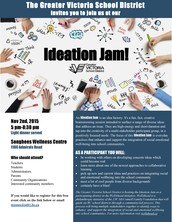 You are Invited to SD 61's Ideation Jam!