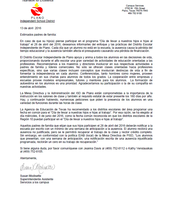 Parent letter Spanish