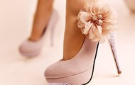 Light Light Pink High Heels!
