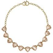 Peach somerveil necklace