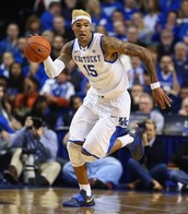 Cauley-Stein Dribbling Down Court