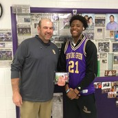 Terry Taylor - Culvers High School Basketball Player of the Week