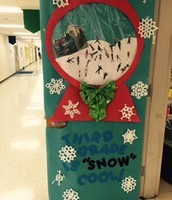 Our class door decoration!