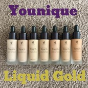 All colors of liquid foundation are officially available!