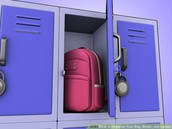 Keep Your Locker and Backpack Neat