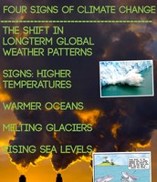 Four Signs of Climate Change