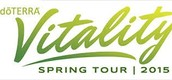 """Vitality Tour""  THURSDAY, APRIL 9th @ 7:00pm or other dates/times near you"
