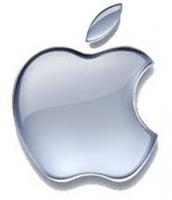 Logo Apple ar hyn o bryd