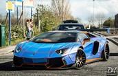 Lamborghini Aventador Liberty Walk Edition