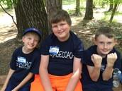 Zach, Vance, and Peyton