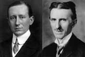 Guglielmo Marconi and Nikola Tesla