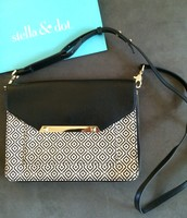 Tia Cross Body (Also used as Clutch) Mosaic $40