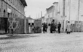 The entrance to the ghettos.
