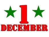 Tuesday, Dec 1