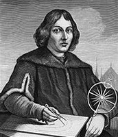 Copernicus believed that the sun was at the center