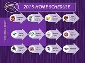RHE Volleyball Schedile