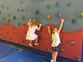 climbing wall practice