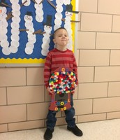 100 gumballs by Jacob