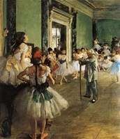 La Classe de Danse (1870)