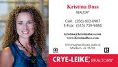 Kristina Bass - We thank you for your Support!