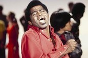 James Brown feeling the music