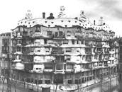 Casa Mila in 1914