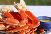 For our Grand Opening we are having a crab leg eating contest!