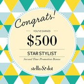 Congratulations to this stylist who scored a second-time promotion bonus!