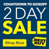 Countdown to Kickoff — Save up to 30% on Select Tech, Ends Saturday