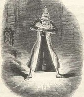 Scrooge being a Scrooge