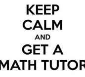 Math Tutoring: