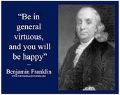 The Virtues of Ben Franklin's 13-Week Plan