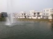 Function Fountain inside Amaltas Villas Haldwani
