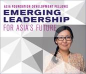 Asia Foundation Development Fellowship- Leadership training in S.Korea, Mongolia & U.S. + $5000!