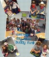 Book Buddy Fun during Spirit Week!