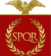 Flag of ancient Rome