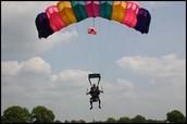 Modern day Parachute