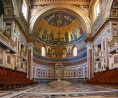 Inside of Basilica