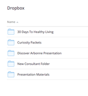 Did you know our team's files are now organized on DropBox?
