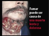FUMAR CAUSA UNA MUERTE LENTA Y DOLOROSA