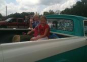 Mason and Camden Kolby at Round Top 4th of July Parade!!