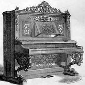 ההיסטוריה של הפסנתר
