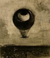 Occhio mongolfiera, Redon, 1898
