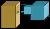 A caja y espiga
